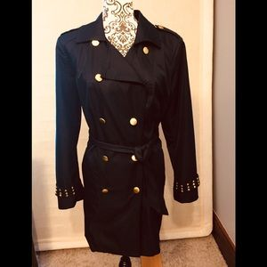 Jacket lightweight Navy blue with gold buttons